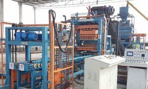 paver block production line